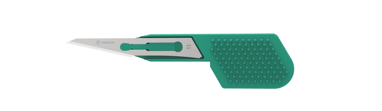 thumb disposable scalpel